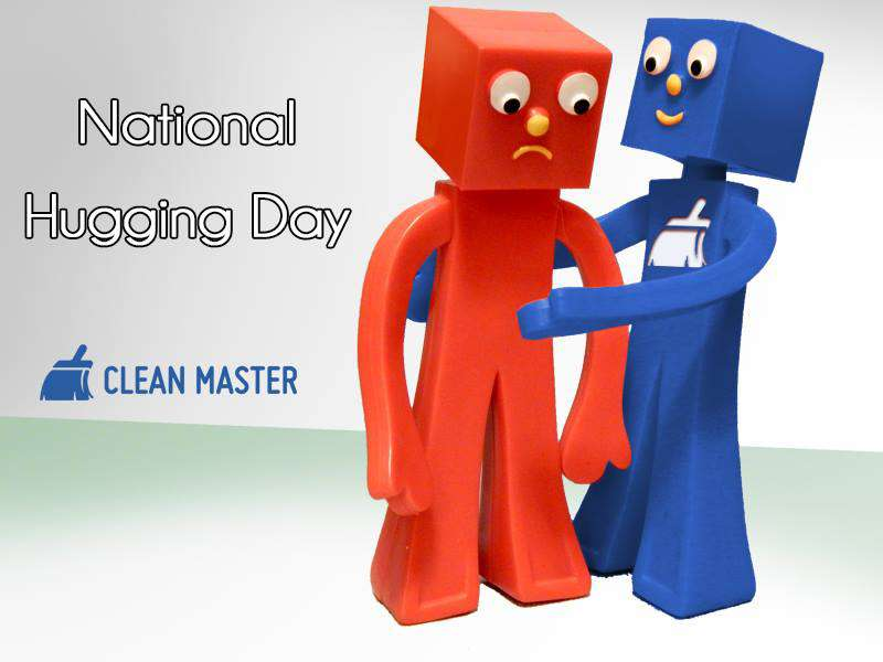 National Hugging Day Wishes Unique Image