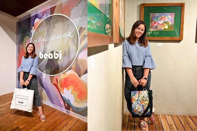 Patty Villegas - The Lifestyle Wanderer - beabi - Manuel Baldemor - Floral Symphony Collection - Flowers Speak from the heart bag