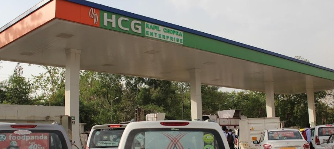 CNG pump on Delhi Jaipur highway