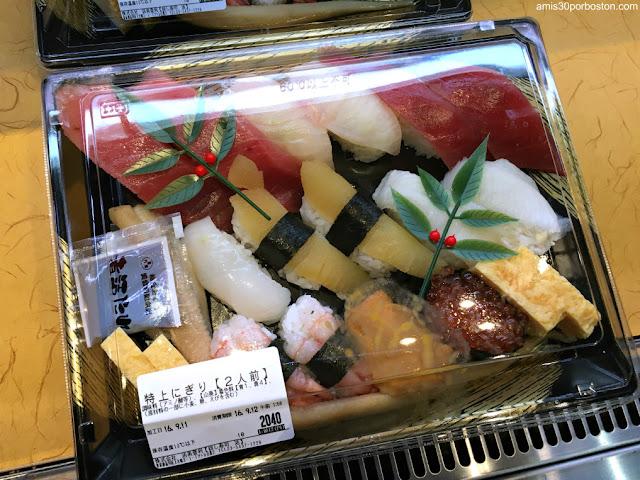 Sushi para Llevar de Katsu Midori, Tokio