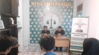 "LBH Kasasi Sultra Gelar Diskusi Bulanan dengan Tema ""Pengantar Advokasi Masyarakat"""