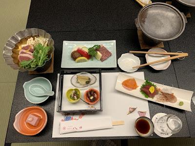 ホテル八田の夕食