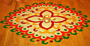 Happy Diwali 2015 Latest Rangoli Designs  2015