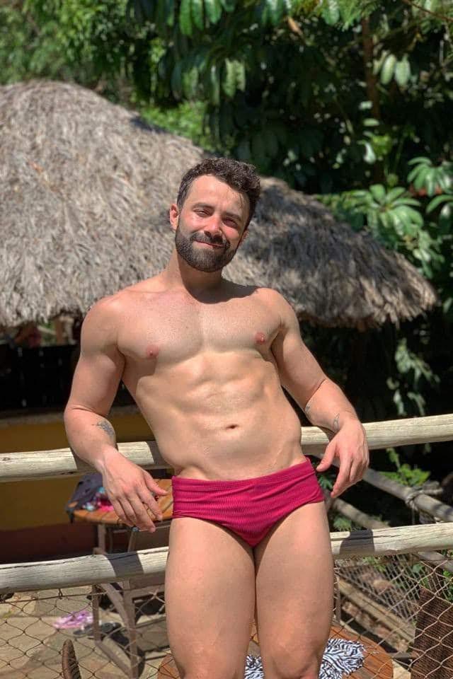 Personal trainer Leandro Ferreira. Foto: Arquivo pessoal