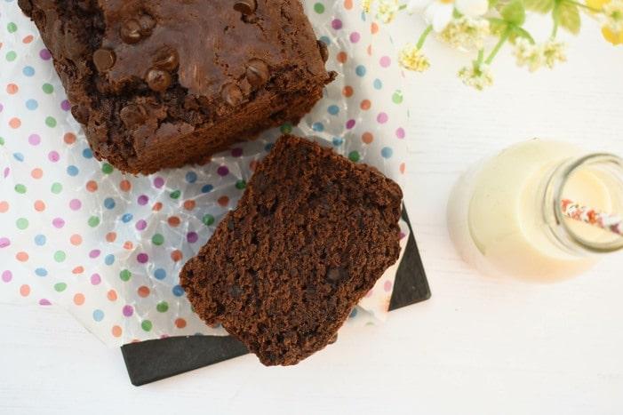 Easy Vegan Chocolate Loaf Cake