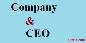 CEO of popular companies |Top companies and their ceo