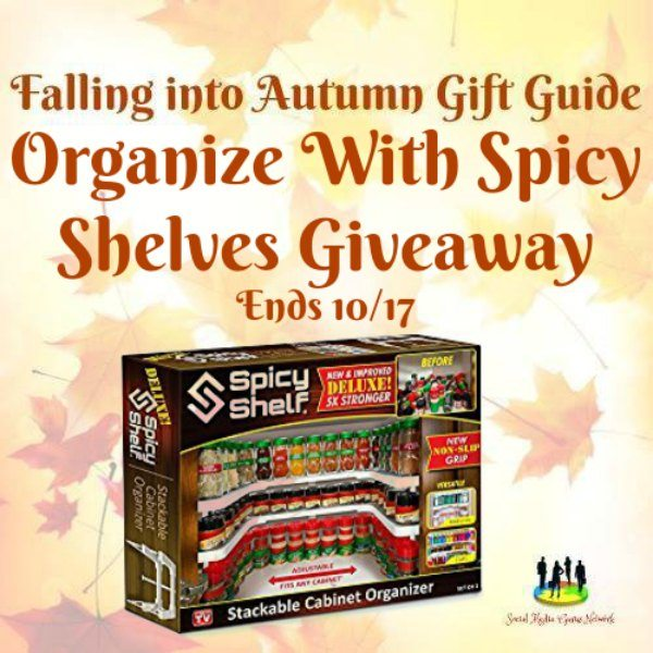 Organize With Spicy Shelves