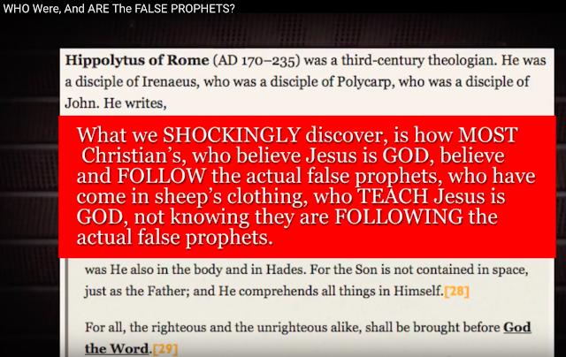 The false prophets.