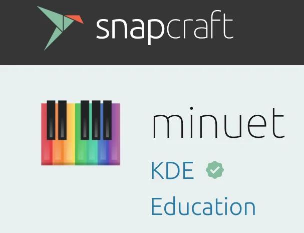 educação-musical-minuet-kde-linux-musica-software-educacional-snap-snapcraft-ubuntu