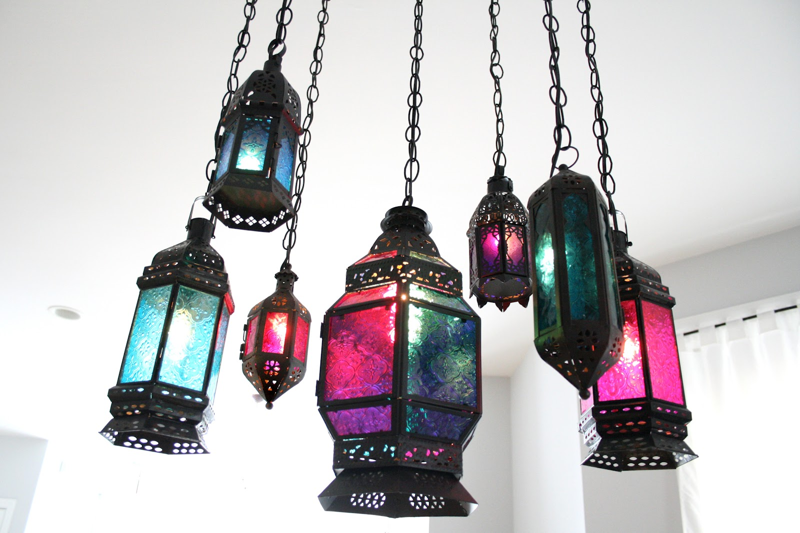 Indie Fashion and Beauty: DIY Moroccan Lantern Chandelier