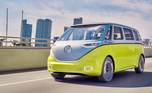ID.Buzz electric minibus will be released in 2022