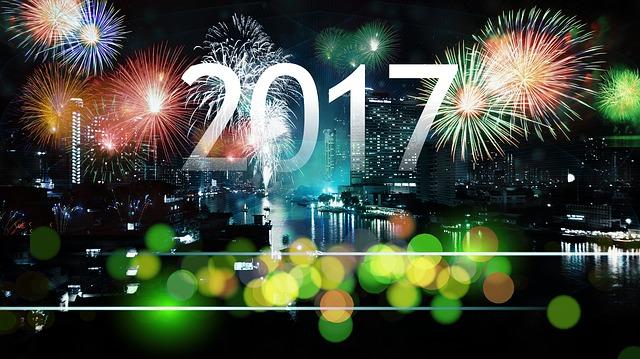 Voeux de Nouvelle année, porte-bonheurs