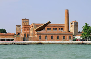 This restored cotton mill on the Giudecca Canal is part of the Iuav campus in Venice