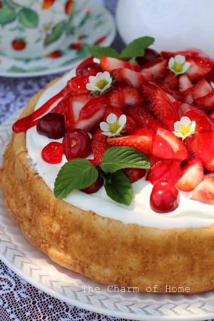 Easy Fancy Strawberry Shortcake