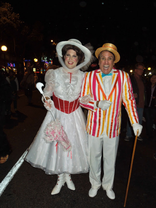 Mary Poppins Jolly Holiday costumes Weho Halloween