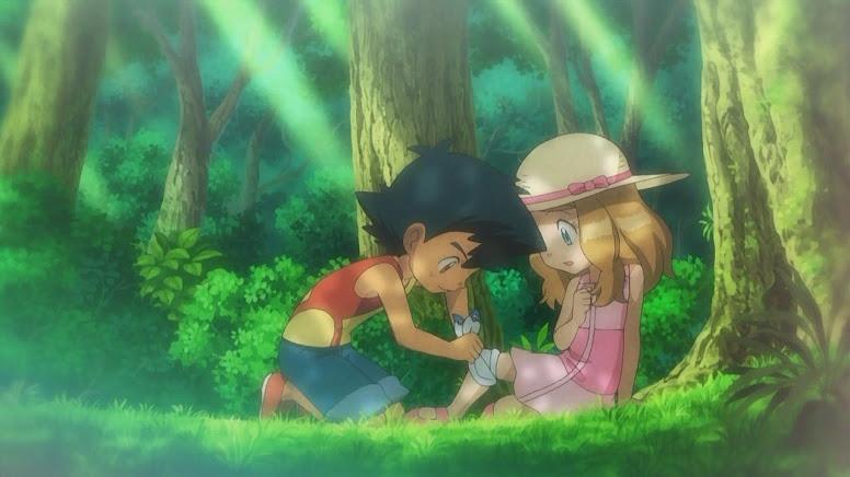 Ash e Serena Jovens