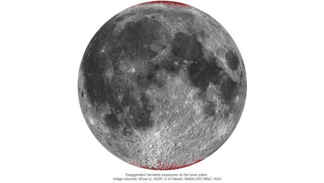 ferrugem na Lua
