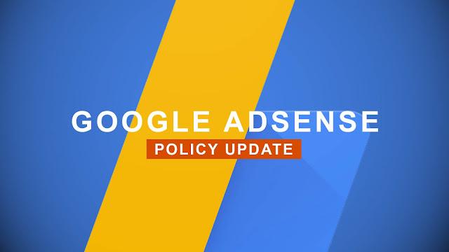Undang-Undang Baru Adsense Update September 2019