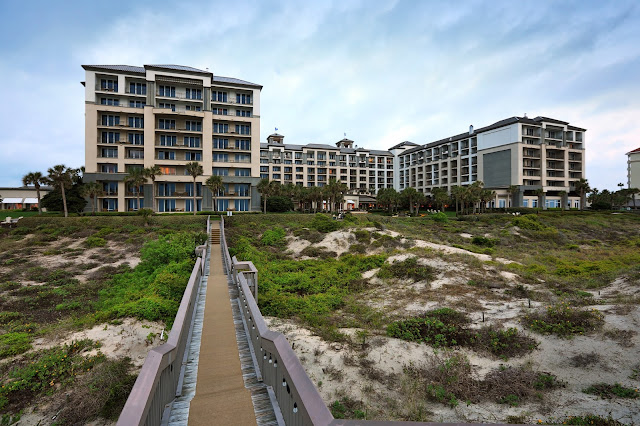The Ritz-Carlton, Amelia Island offers its guests private access to about 1 1/2 miles of the island's coastline. You and your family will only be a boardwalk away from gorgeous beaches teeming with seashells and shark teeth.