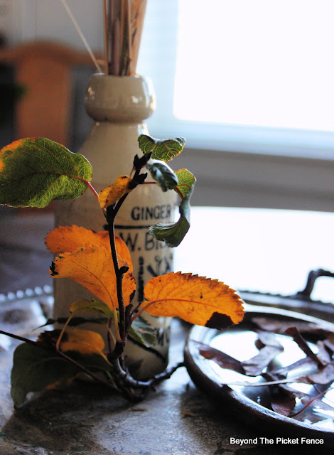 Simple, Found Fall Decor
