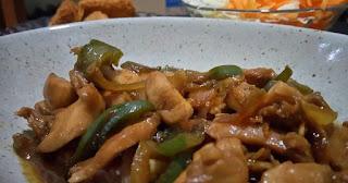 Resep Chicken Yakiniku Hoka-Hoka Bento