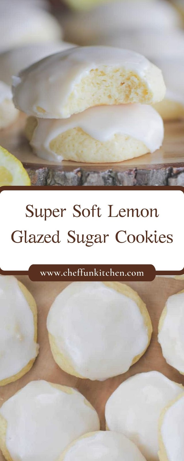 Super Soft Lemon Glazed Sugar Cookies