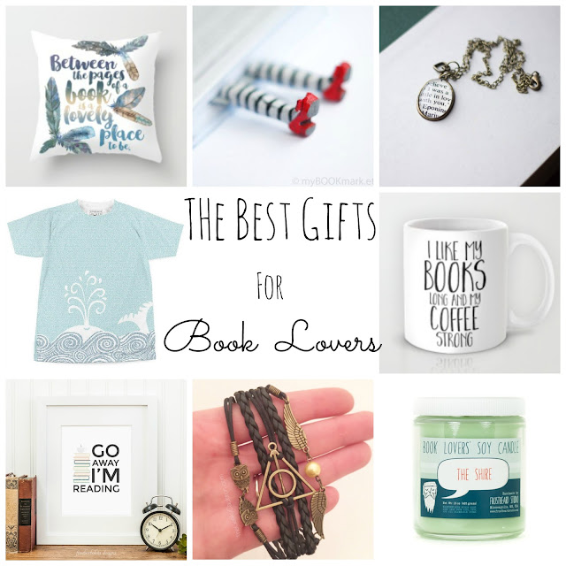 The BEST gifts for booklovers! Fashion, jewelry, and home decor for book worms!