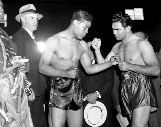York 1938 City Joe Vs Louis New Max Schmeling