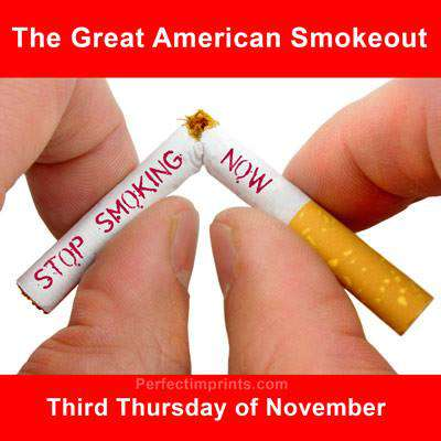 Great American Smokeout Wishes Awesome Picture