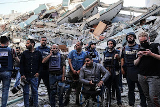Forjim: Bombardir Kantor Media, Israel Langgar Konvensi Jenewa 1949