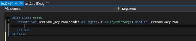 Cara Membuat Kontrol Keyboard Tombol F1 F2 F3 dan Escape(Esc) di VB.Net