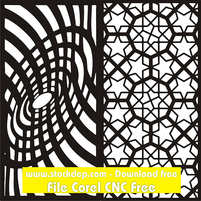 DXF of Laser Cut -CNC Vector DXF-CDR – AI Art file REF Download