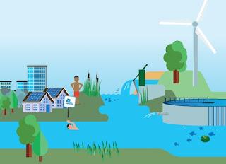 Uitsnede illustratie cover Waterschapspeil 2020