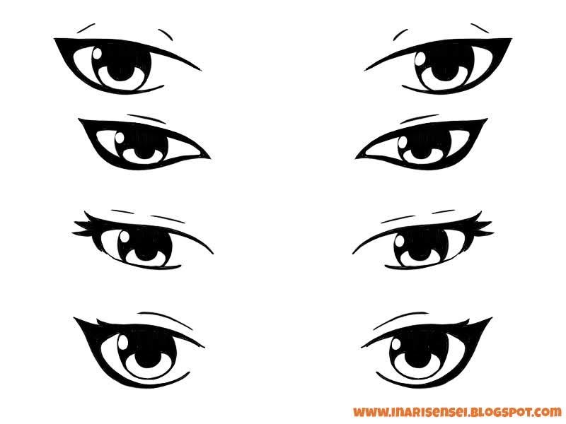 yeux manga de méchants