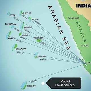 Andaman Nicobar and Lakshadweep Islands