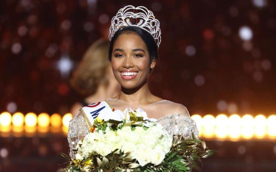 Miss Guadeloupe Clemence Botino is announced as Miss France 2020