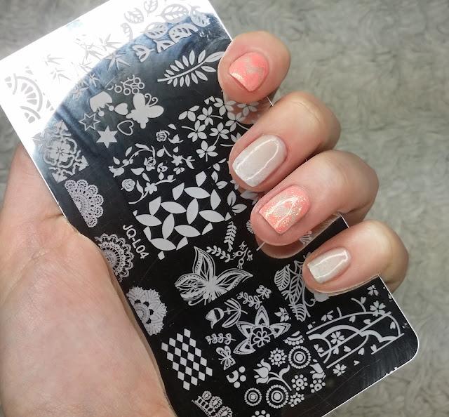 płytka aliexpress paznokcie