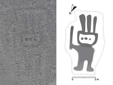 143 nouveaux géoglyphes découverts sur la Nazca Pampa et ses environs