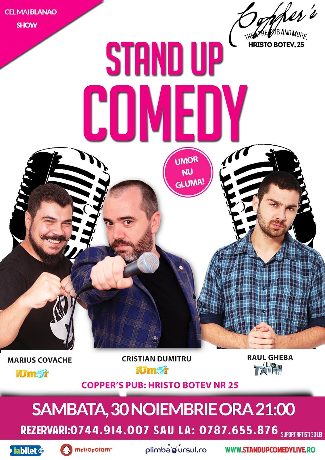 Stand-Up Comedy Sambata Bucuresti