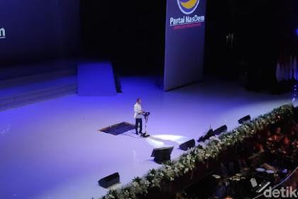 Pidato di HUT Ke-8 NasDem, Jokowi Ucapkan Salam Semua Agama