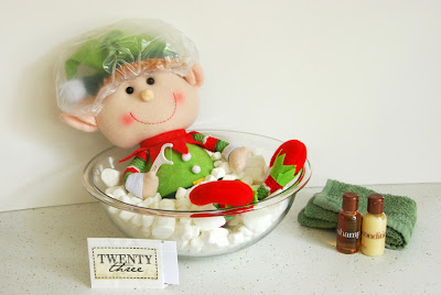 elf on the shelf advent bible study bathtime