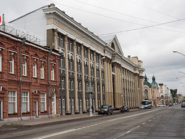 Иркутск, улица Маркса (Irkutsk, Marks street)