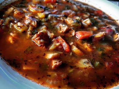 Zupa Bogracz w wersji fit
