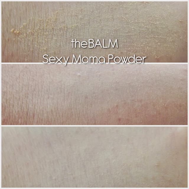 THE BALM® COSMETICS  SEXY MAMA Anti-Shine Translucent Powder.
