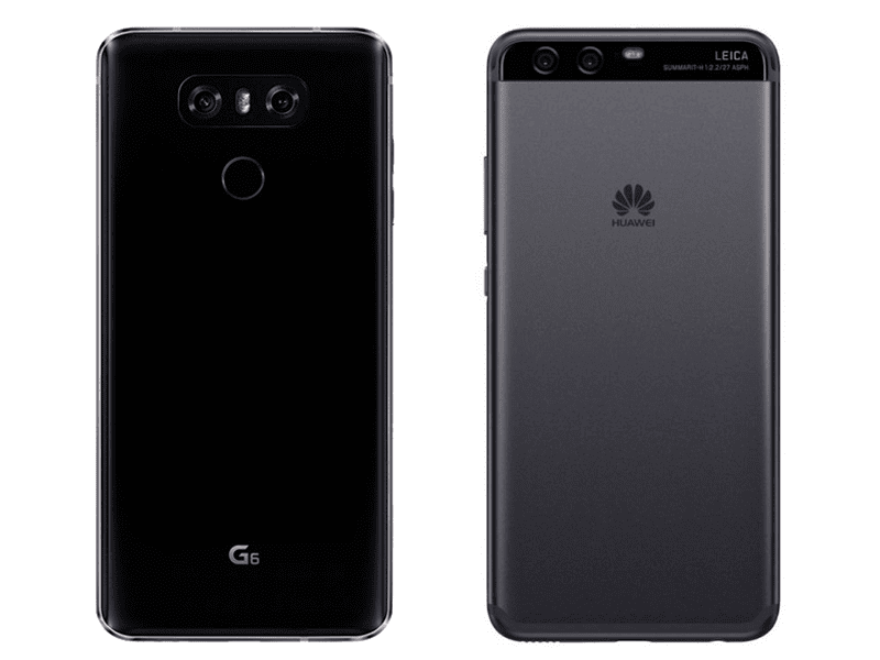 LG G6 Vs Huawei P10 Plus Specs Comparison