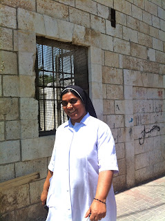 a nun in Ramla Israel