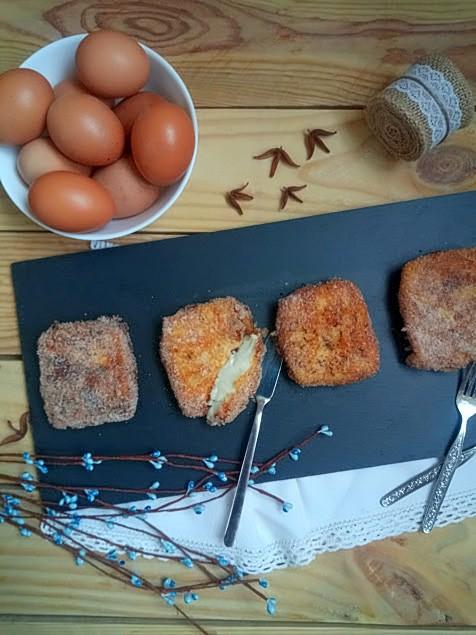 Leche frita Receta tradicional Semana Santa Cuaresma Repostería de sartén Desayuno Merienda Postre Canela Limón Vainilla Cuca