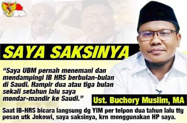 Bantah YIM, Ust. Buchory Muslim: Saya Saksinya