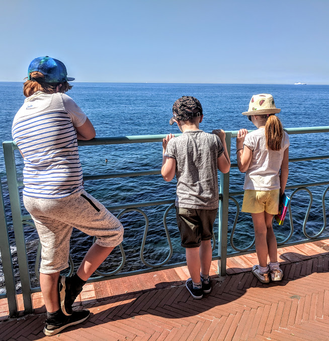 How to spend a weekend in Genoa with kids - coastal path Nervi