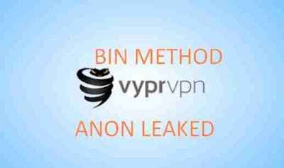 Bin Method VyprVPN Update on 2019